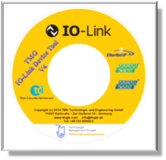 TMG IO-Link Device Tool CD